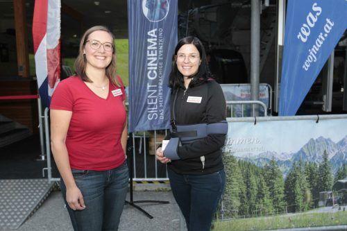 Marketingduo Sarah Dünser und Elisabeth Bolter.