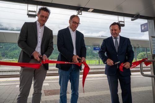 Markus Giesinger, Johannes Rauch und Hubert Hager.