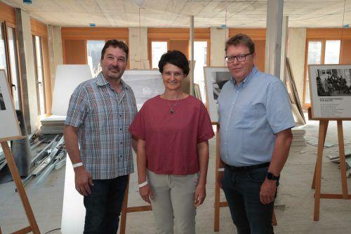 Markus Mayer, Birgit und Arnt Buchwald.