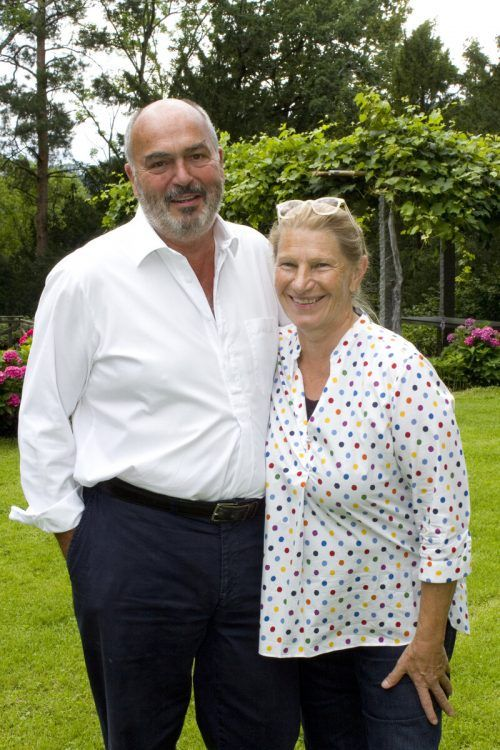 Matthias und Jutta Scheyer bewirteten das Publikum mit eigener Hausküche.