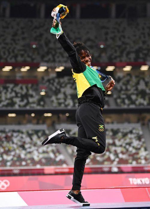 Megan Tapper freute sich nach Bronze überschwänglich.Reuters