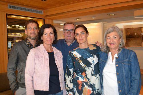 Michael Lidauer, Anita Atzgersdorfer, Heinz und Anneliese Lidauer.