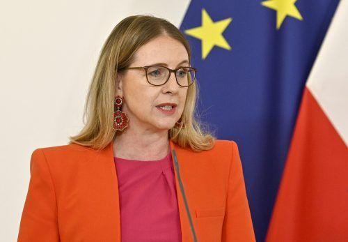 Ministerin Margarete Schramböck ist mit dem Gesetz zufrieden. APA