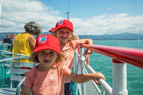 Mitspielen und gewinnen: Am 23. August findet der exklusive VN-Familienausflug auf dem Nostalgieschiff MS Austria statt.VN/RP
