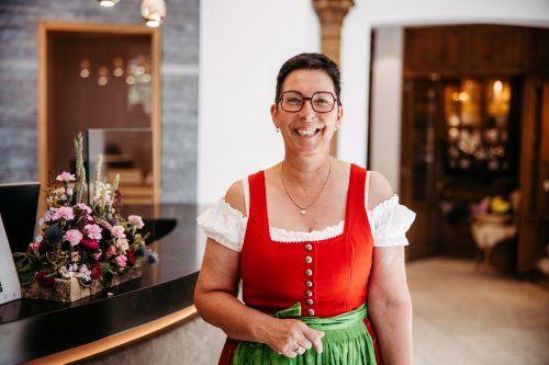 Monika Roiderer vom Warther Hof setzt auf den Zusammenhalt.