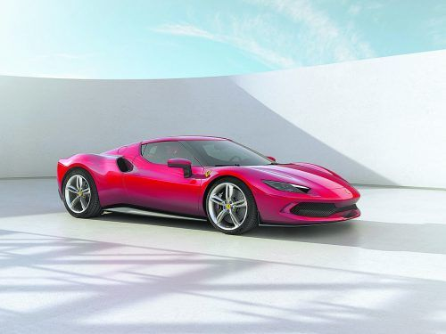 Neuzugang im Ferrari-Stall: Plug-in-Hybrid mit 830 PS Systemleistung.werk