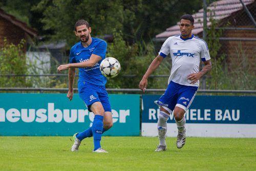 Renan Peixoto Nepomuceno erzielte gleich vier Tore für den SC Röthis.Steurer
