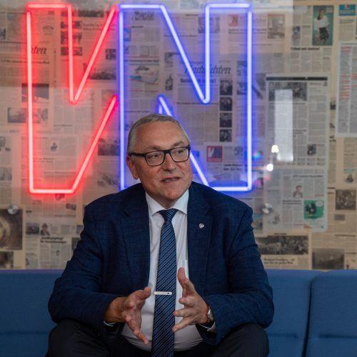 Russland brauche keine weiteren Vermittler in den Gesprächen mit der Europäischen Union, sagt Ljubinskij. VN/Lerch