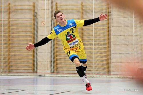 Samuel Wendel bleibt auch nach fünf Jahren dem HSG Konstanz treu.Elsner