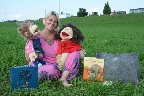 Sandra Staubmann begleitet Kinder und deren Angehörige in verschiedensten Trauerfällen.bvs (3)