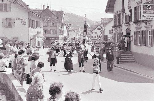 Schwarzach, Feuerwehrfest, 1977