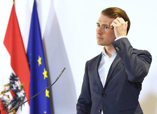 Sebastian Kurz stellt sich am Samstag der Wiederwahl als ÖVP-Chef. APA