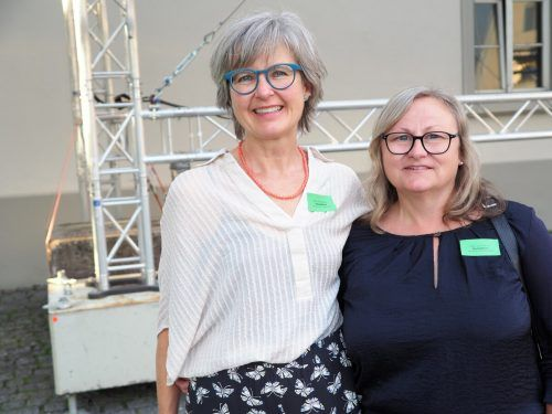 Sozialpädagogin Irene Nägele-Schwaiger und Ergotherapeutin Susanna Büchele.