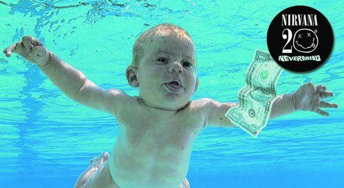 Spencer Elden war 1991 im Alter von vier Monaten nackt auf dem Cover zu sehen. AP