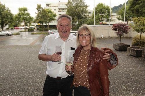 StR. Guntram Rederer und Gattin Barbara waren unter den Gästen.