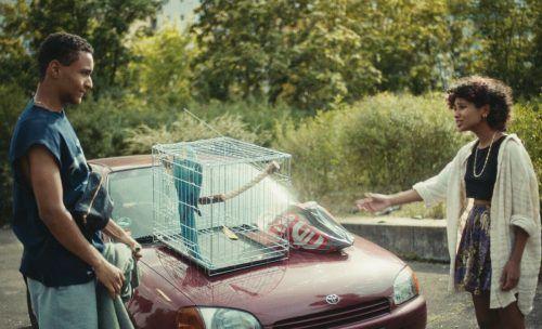 """Szenen aus """"Schneekönigin"""" und """"Paradiesvogel"""" beim Filmfestival in Bludenz.Alpinale"""