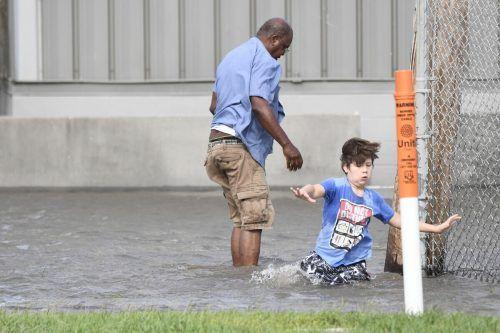 Teile von Saint Rose (Louisiana) wurden überschwemmt. AFP