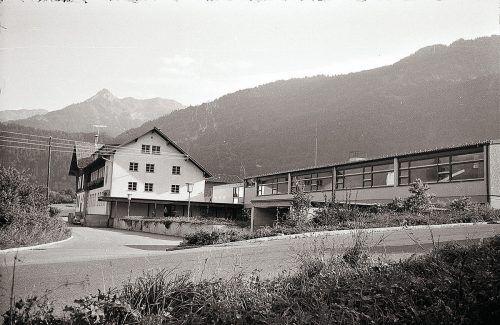Vandans, Volksschule, 1970