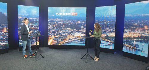 """VGT-Sprecherin Ann-Kathrin Freude war bei """"Vorarlberg live"""" zu Gast. VN/MIP"""