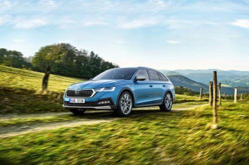 Vielseitige Eigenschaften und Talente hat der Škoda Octavia auch in seiner neuen Generation. Die Scout-Variante des Combi gehört untrennbar dazu.