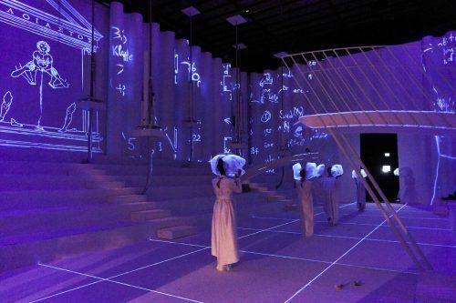 """""""Wind"""" von Alexander Moosbrugger ist nach """"To the Lighthouse"""" von Zesses Seglias die zweite Produktion im Opernatelier der Festspiele. BF/köhler"""