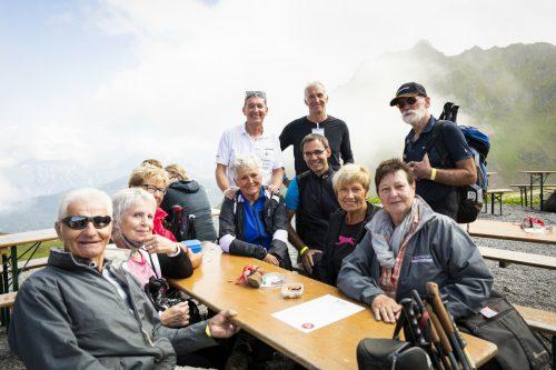 Wunderbares Wanderwetter und beste Stimmung herrschten beim 26. Landeswandertag.Seniorenbund/Dietrich