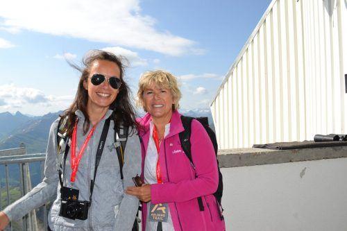 Yvonne Mehmedovic und Wilma Himmelfreundpointner.