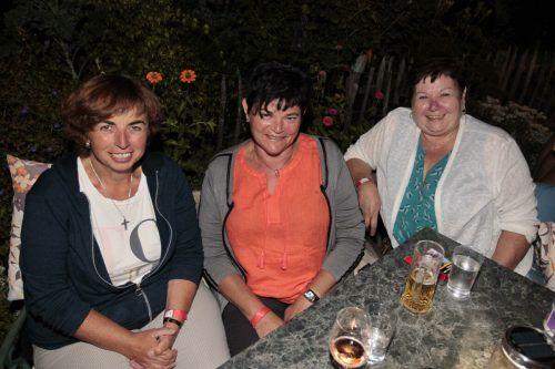 Zu Gast waren unter anderen Edith Rauch, Herta Mötstaller und Barbara Rauch.