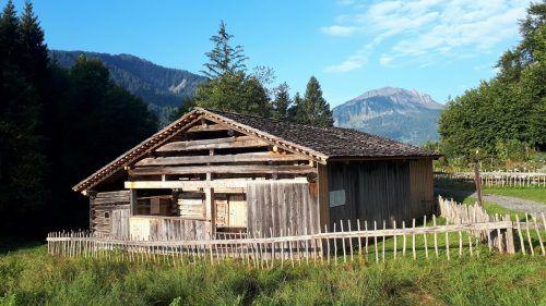 430 Jahre alte Hütte im Holdamoos.mam