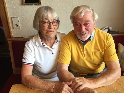 62 Jahre schon halten Siegfried Hämmerle und seine Frau Rita, die drei Kochbücher herausgebracht hat, fest zusammen. VN/kum