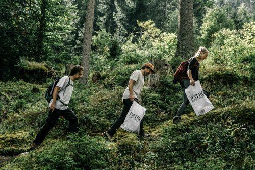 65 selbstorganisierte Kleingruppen sammelten in den Bergwäldern des Montafons bei den CleanUP Days Müll.Lena Everding