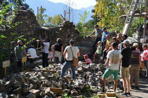 Am 26. September findet in der Burgruine Blumenegg der Tag des Denkmals statt.HAB