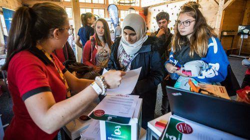 """Am Freitag, 1. Oktober, stellen sich wieder zahlreiche Ausbildungsbetriebe im Rahmen der """"Lehre am Berg"""" vor.Mel"""