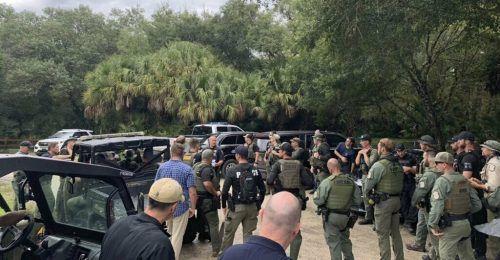 Am Wochenende durchkämmten Einsatzkräfte ein Naturschutzgebiet in Florida. AP
