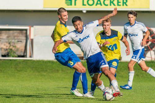 Amateure aufgepasst: Der SC Röthis kommt in Topform nach Lustenau.stiplovsek
