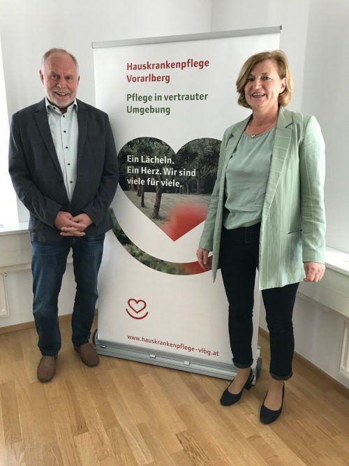 Angela Jäger und Wolfgang Rothmund führen den Verband. VN/MM