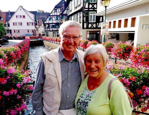 Annelies und Ernst Abbrederis gehen gerne auf Reisen.Abbrederis