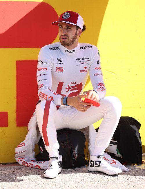Antonio Giovinazzi muss um sein Formel-1-Cockpit bangen.reuters