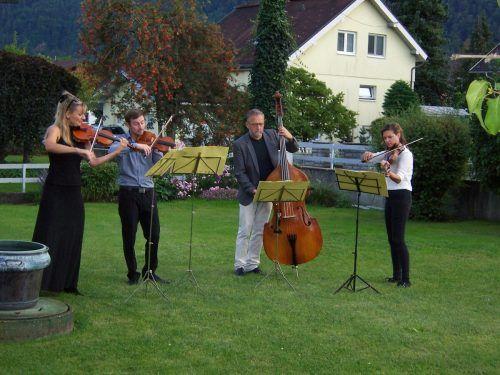 Auch das Ensemble KonzArt ist bei der Brandnertaler Kulturwoche zu hören. Veranstalter