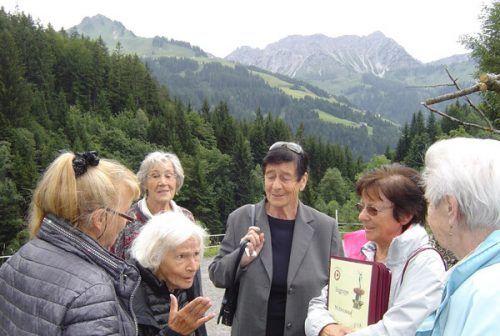 Ausflug der Singgruppe der Pensionisten zum Seewaldsee.Ludwig Weg, PVÖ Bludenz