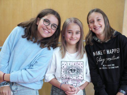 Beatrice Reveilleau Warken, Leonora Pasterk und Hannah Morscher.