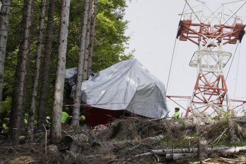 Bei dem tragischen Unglück kamen 14 Menschen ums Leben. AP