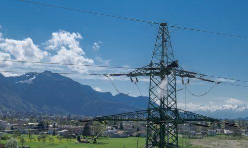 Bereits heute werden von illwerke vkw pro Jahr 30 bis 35 Millionen Euro in die Energienetze investiert. vn/hartinger