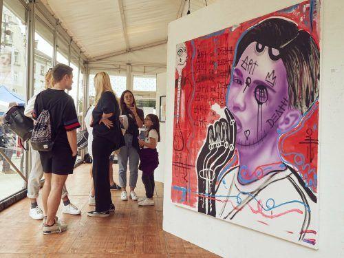 Bereits zum fünften Mal findet die Young Art Generation in Bregenz statt.Stadt Bregenz
