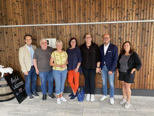 Bgm. Michael Ritsch und StR. Dr. Annette Fritsch zu Besuch beim Grillfest des PVÖ.PVÖ