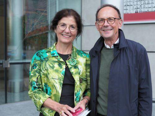Birgitt Breinbauer und Karl Rümmele fanden den Abend spannend.