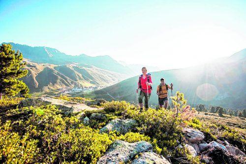 Bis Oktober führen Einheimische die Gäste zu schönen Plätzen.IBK Tourismus/Zangerl