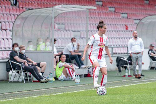 Bittere Heimniederlage für Sabrina Horvat und ihren 1. FC Köln.VN