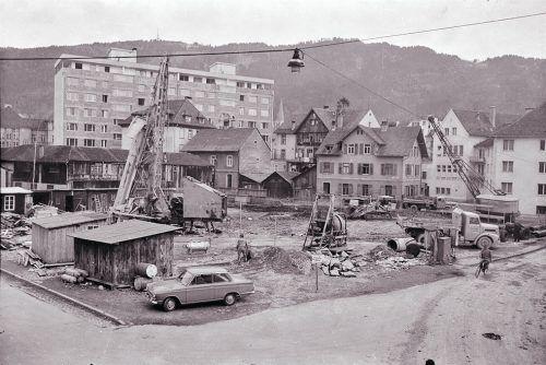 Bregenz, Weiherviertel, 1963