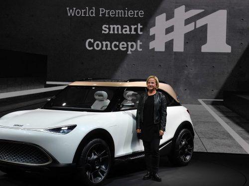 Britta Seeger, Mitglied des Vorstands der Daimler AG. afp